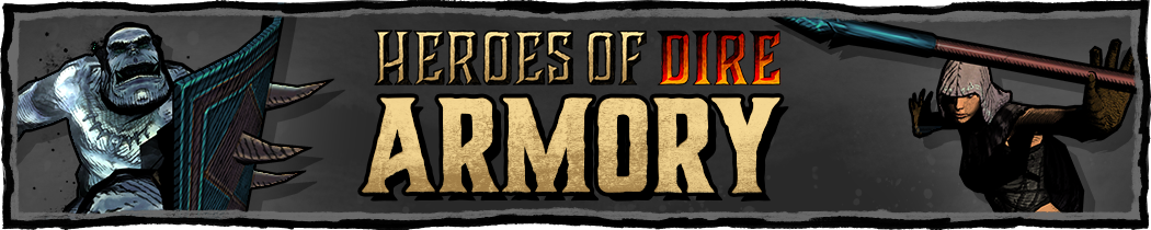 Heroes of Dire - Armory